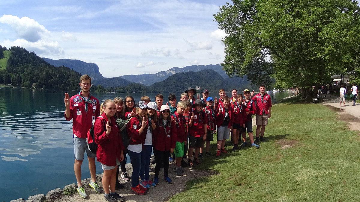 Sommerlager der Guides und Späher 2019