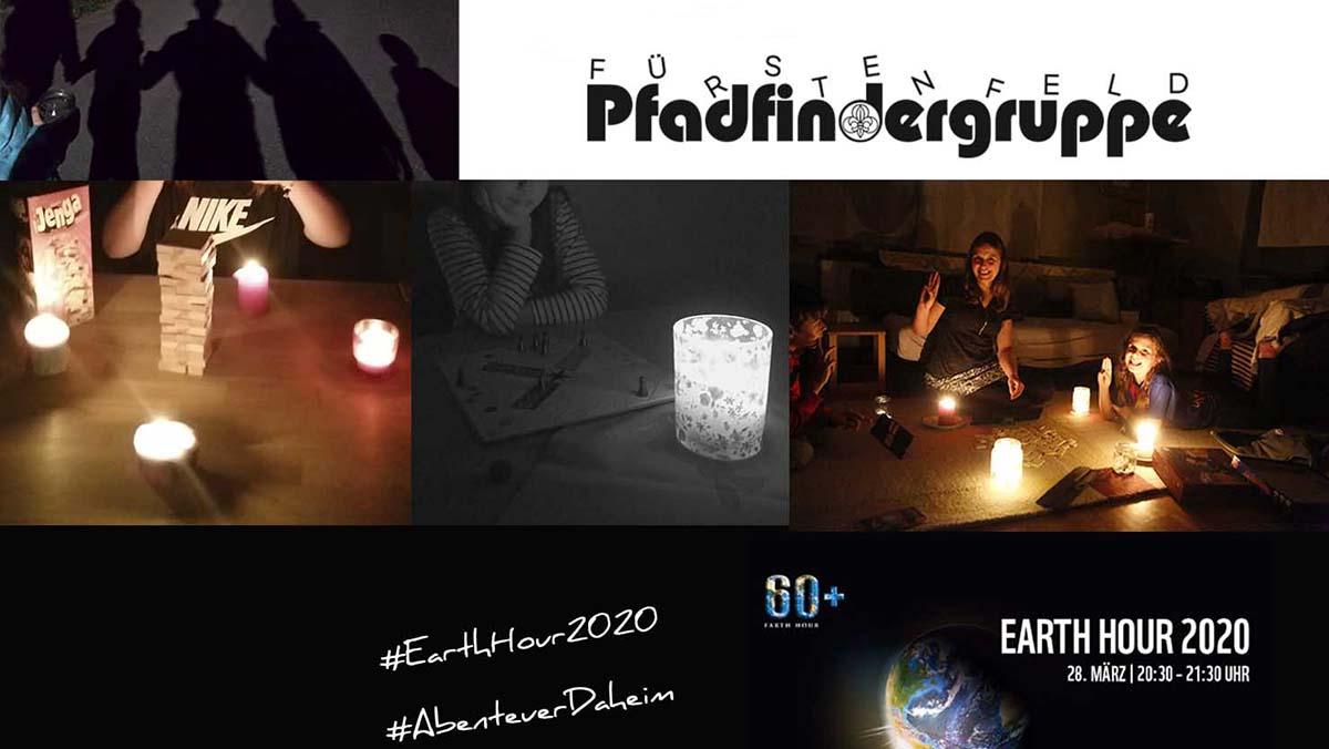 Earth Hour 2020 – Wir waren dabei!