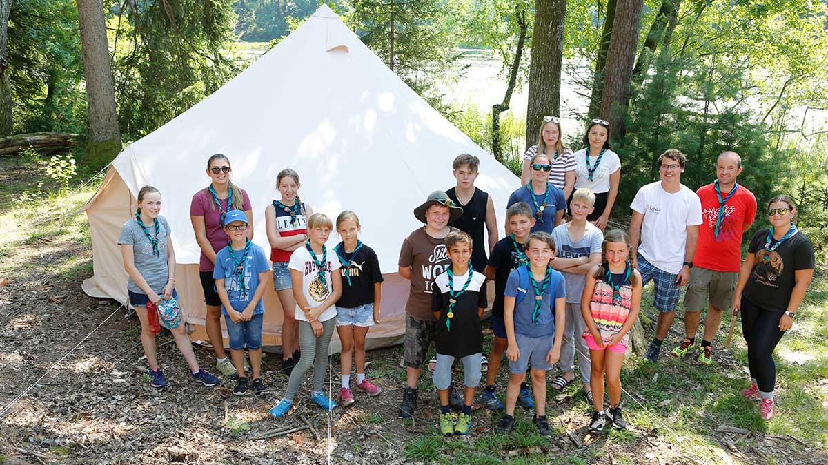 Sommertageslager der Guides und Späher 2020